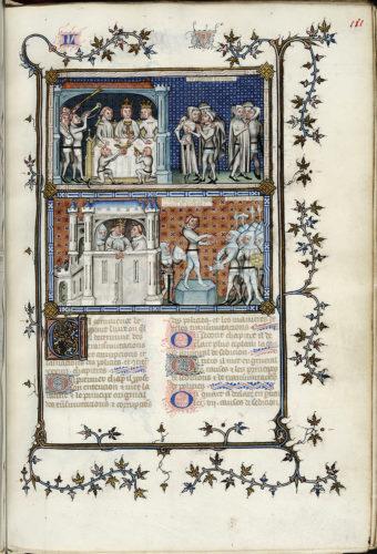 Abb. 1: Nicole Oresme, Le Livre de Politiques, 1376