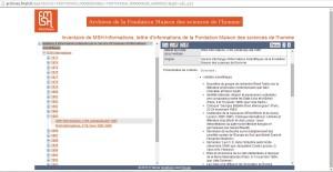 Plan de classement de l'inventaire des bulletins d'informations