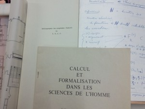 Quelques documents du fonds du CMAC de la FMSH