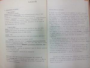 Extrait du dossier de projet de bibliographie de bibliographies sur le mouvement ouvrier (Article 167, 1966-1973)