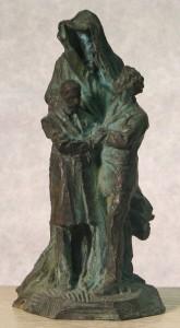 D. Puech : Monument Fouillée-Guyau (esquisse fondue en bronze) © Rodez, musée Denys-Puech.