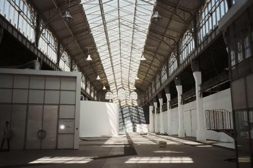 Intérieur de la grande halle Bouchayer-Viallet