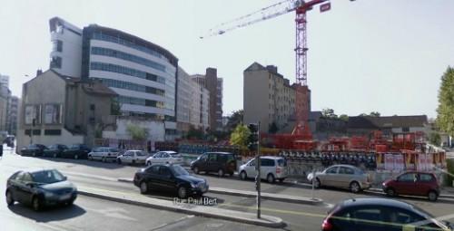 Démolition du bâti à vocation industrielle, Lyon 3e