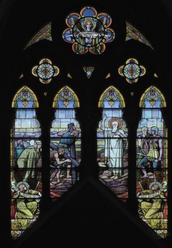 Nicod et Jubin, Saint André bénissant sa croix.