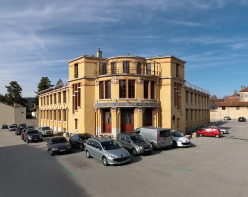 Vue d'ensemble de la Grande Vapeur( Martial Couderette © Région Rhône-Alpes, Inventaire général du patrimoine culturel, 2012, ADAGP).