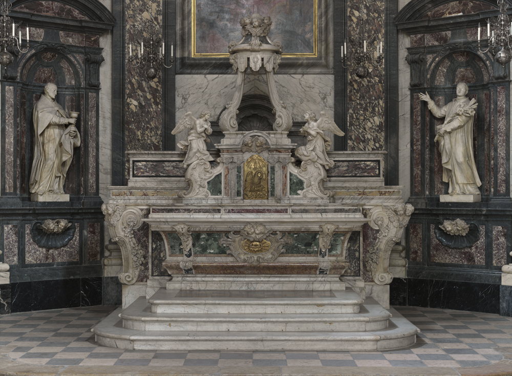 Fig. 4. D. Magnani : maître-autel, 1734.
