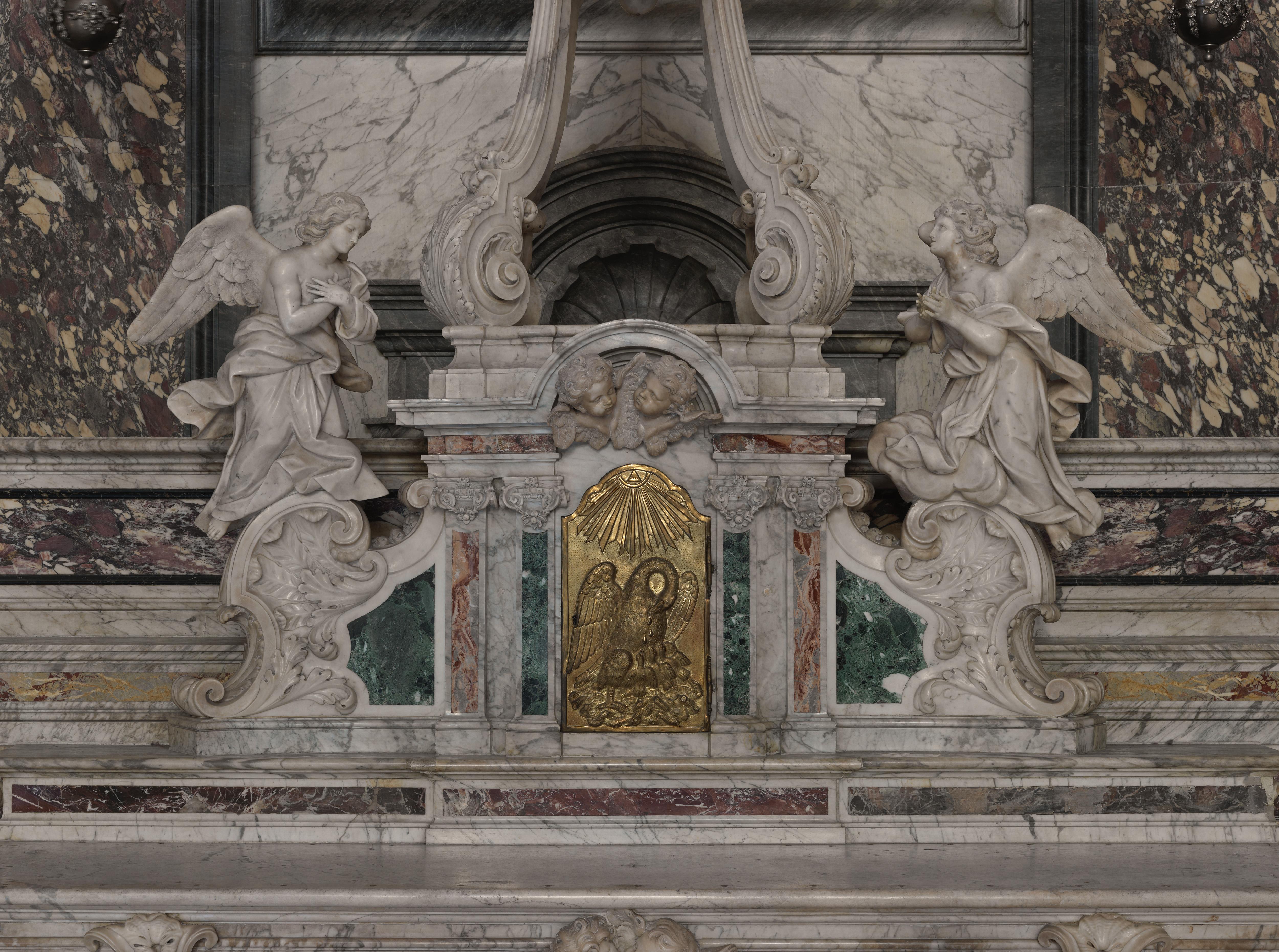Fig. 7. Le tabernacle. Phot. E. Dessert, T. Leroy © Région Auvergne-Rhône-Alpes, I.G.P.C., 2013