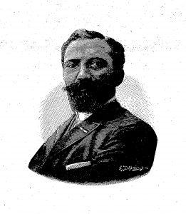 Ill. 6 : Portrait d'Antoine Nolot en 1889, tiré de La Gymnastique, 4e année n° 38, dimanche 22 septembre 1889, p. 273.