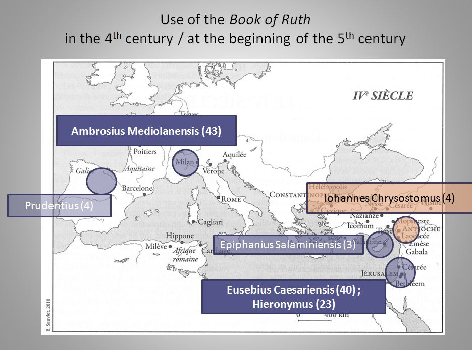 Use of the book of Ruth