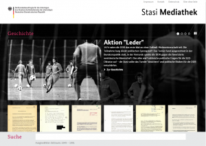 Stasi Mediathek_Startseite