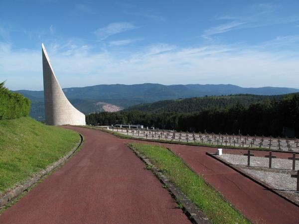 Vue du mémorial flamme, auteur : Clémentine Albertoni, 2011 (Ministère de la culture).