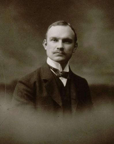 Portrait de Charles Czarnowsky. Auteur : Henri Prillot, vers 1910 (Photo. et coll. BNU Strasbourg)