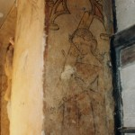 Peinture murale, Droguerie du Serpent. Cliché : Marie-Dominique Waton (DRAC Alsace)