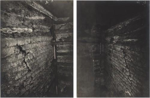 Fouilles dans la cathédrale (Denkmalarchiv, DRAC Alsace- OND)