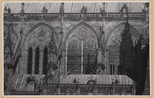 Mesures de protection des verrières, 1939 (Denkmalarchiv, DRAC Alsace)