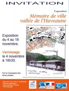 Exposition «Mémoire de ville, la vallée de l'Huveaune»