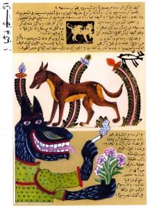Illustration de Muhyî al-Dîn al-Labbâd, extrait du Carnet du dessinateur, Dar al-Shorouk, 2003