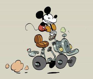 La jeunesse de Mickey, Tebo, Glénat/ Disney, 2016