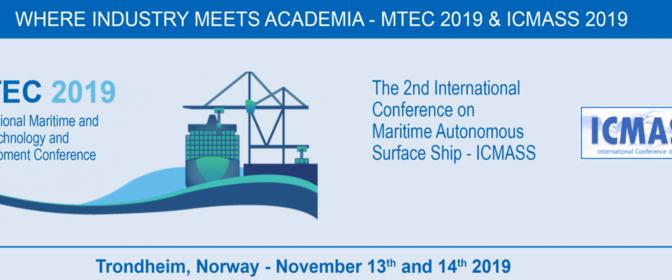 Synthèse: Conférence annuelle sur les technologies maritimes et portuaires et le développement des navires sans équipage, Trondheim, 13-14 novembre 2019.