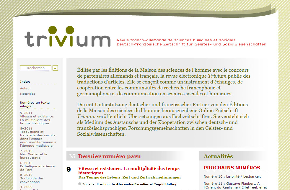 Screenshot von Trivium