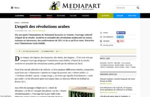 L'esprit des révolutions Mediapart