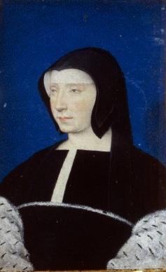 Jean Clouet, Portrait de Louise de Savoie (source : BnF).