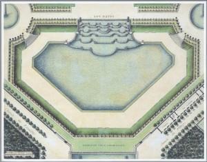 Fig. 2 : « Les Napes ». État postérieur à 1702. Archives nationales O1 1472 n°35