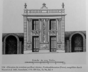 Marly Pavillon à droite