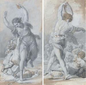 Jean-Bardin-Allégorie-de-la-musique-dansant-avec-des-putti-1776.