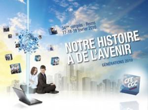 Affiche du congrès de Reims, février 2010.