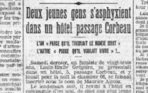 Le Petit Parisien, 7 juillet 1914