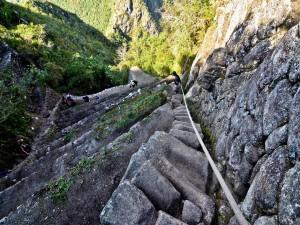 Sentier du Huayna Picchu au Pérou