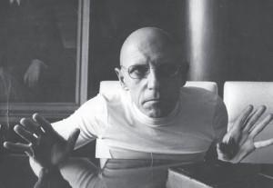 Foucault le diablotin sortant de sa boite
