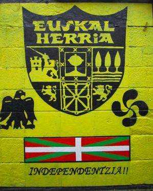 La ville comme moyen d'expression politique : la revendication indépendantiste dans les villes du Pays basque espagnol.