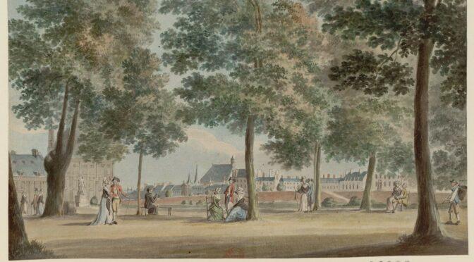 Le banc, la chaise et la lanterne : équiper les jardins parisiens au XVIIIe siècle