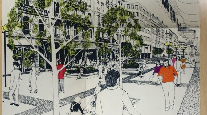 Le mobilier urbain des rues piétonnes, habit sur mesure ou prêt-à-porter ?