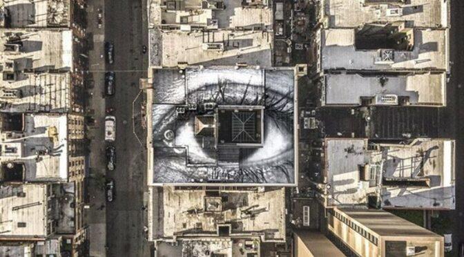 Le street art comme acte engagé ou engageant : JR et sa conception de l'art urbain
