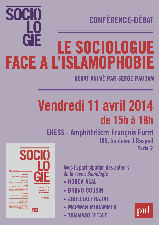 Affiche-SociologueFace A L-Islamophobie - copie