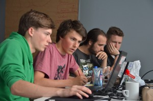Gaming the War - Teilnehmende des HistoryCampus. (© bpb/Jan Konitzki)