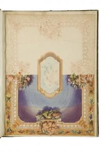 Projet de plafond. Eugène Lami (1800-1890) France, [vers 1852-1870] Crayon, encre brune et aquarelle Achat du musée, 1890 Inv. CD 5732.3 © Les Arts Décoratifs