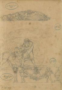 Augustin Dupré (1748-1833) France, ca. [1770-1833] Pierre noire sur papier vergé écru Achat du musée, vente La Béraudière, 1885 Inv. 1009.15.A © Les Arts Décoratifs