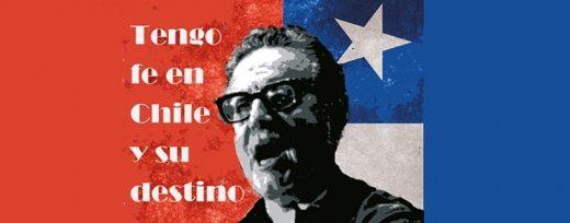 Homenaje ciudadano a Salvador Allende, presidente de Chile