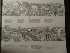 """Fig.9c. Un système de numérotation et d'annotation des planches """"à part"""". Fig.9c. Une histoire à hauteur de d'homme ? La Grande Guerre en Bande dessinée. Beaux-Arts Magazine, 2014, p.41."""