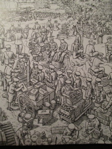 Fig.9d. Une histoire à hauteur de d'homme ? La Grande Guerre en Bande dessinée. Beaux-Arts Magazine, 2014, p.43.