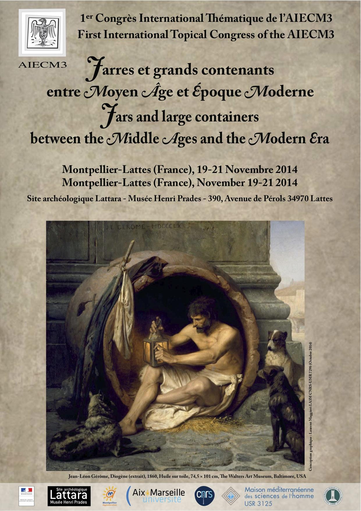 Jarres et grands contenants entre Moyen Âge et Époque Moderne
