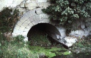 Cloaca Maxima, vue du Ponte Palatino
