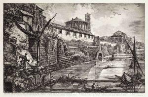 « Veduta dell antiche Sostruzioni fatte da Tarquinio Superbo » dans Vedute di Roma de Giovanni Battista Piranesi