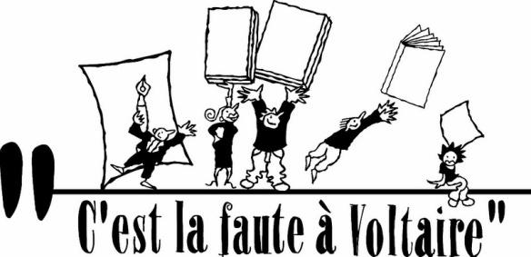 Logo de l'association « C'est la faute à Voltaire »