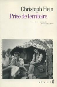 Couverture du livre Prise de territoire