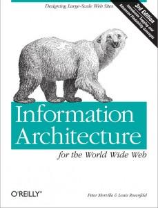 "couverture de ""Information Architecture for the World Wide Web"""